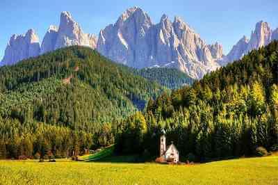 Geisler dolomites en Autriche (1)