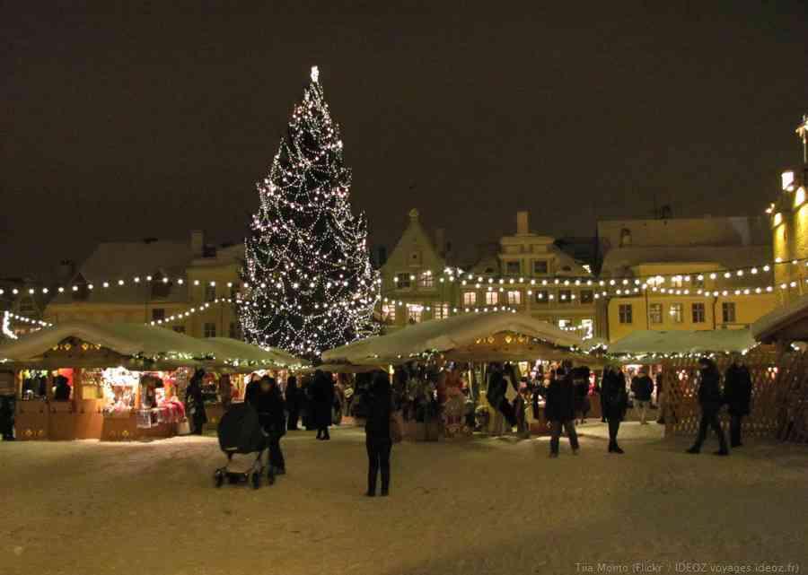 Jõuluturg marché de noel de Tallinn