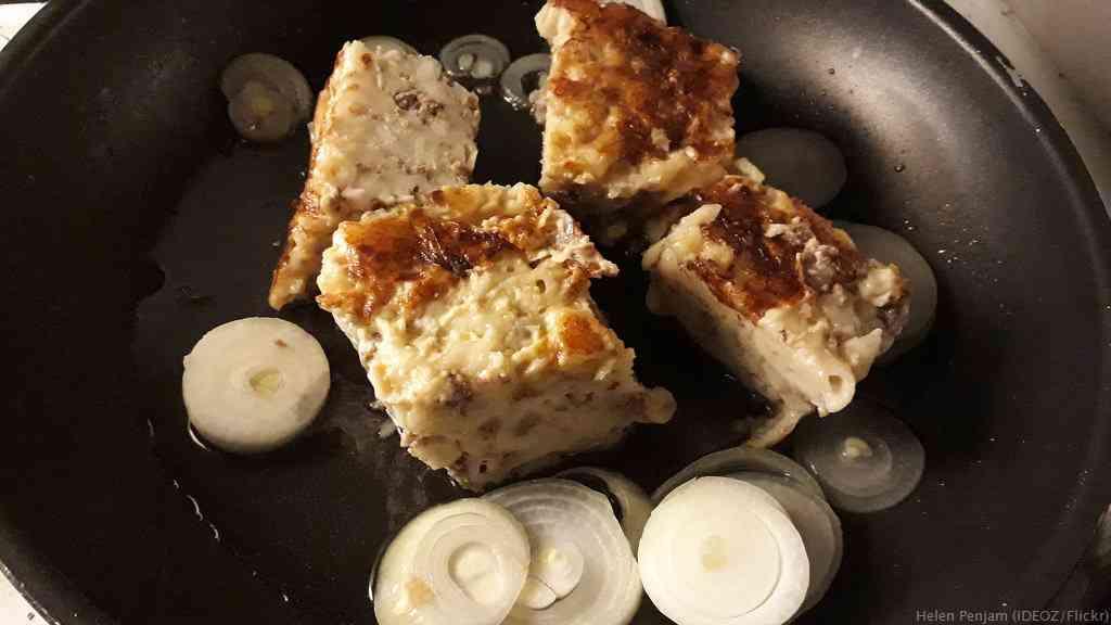Makaronilaatikko gratin de macaronis finlandais