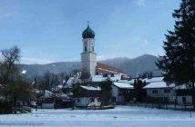 Oberammergau sous la neige