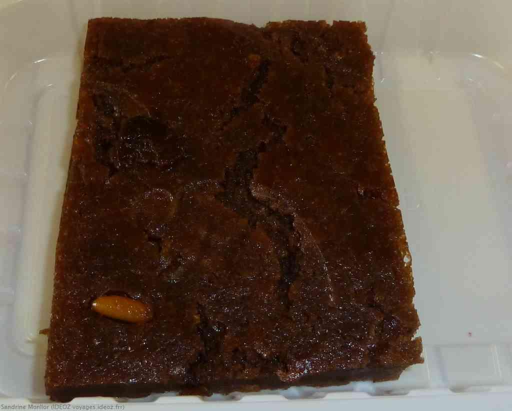 Pattona gâteau aux chataignes spécialité de Toscane