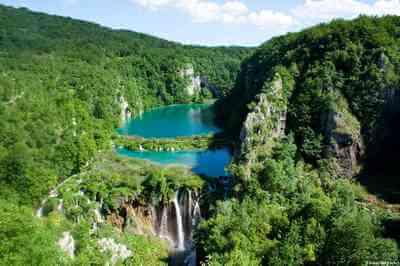 Plitvice chutes des lacs inférieurs