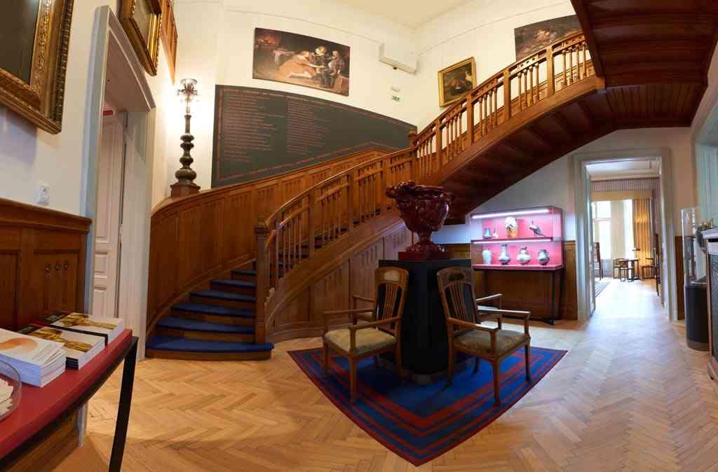 escalier de la villa György Ráth à Budapest