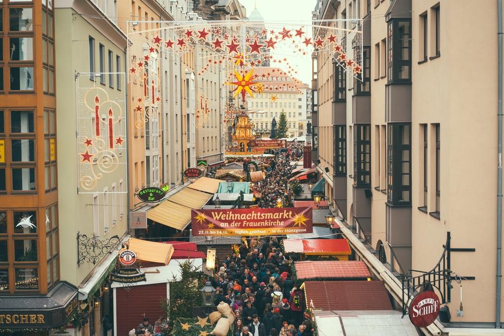 marché de Noel de Dresden