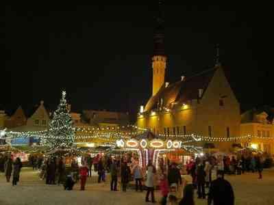 marché de noel Tallinn