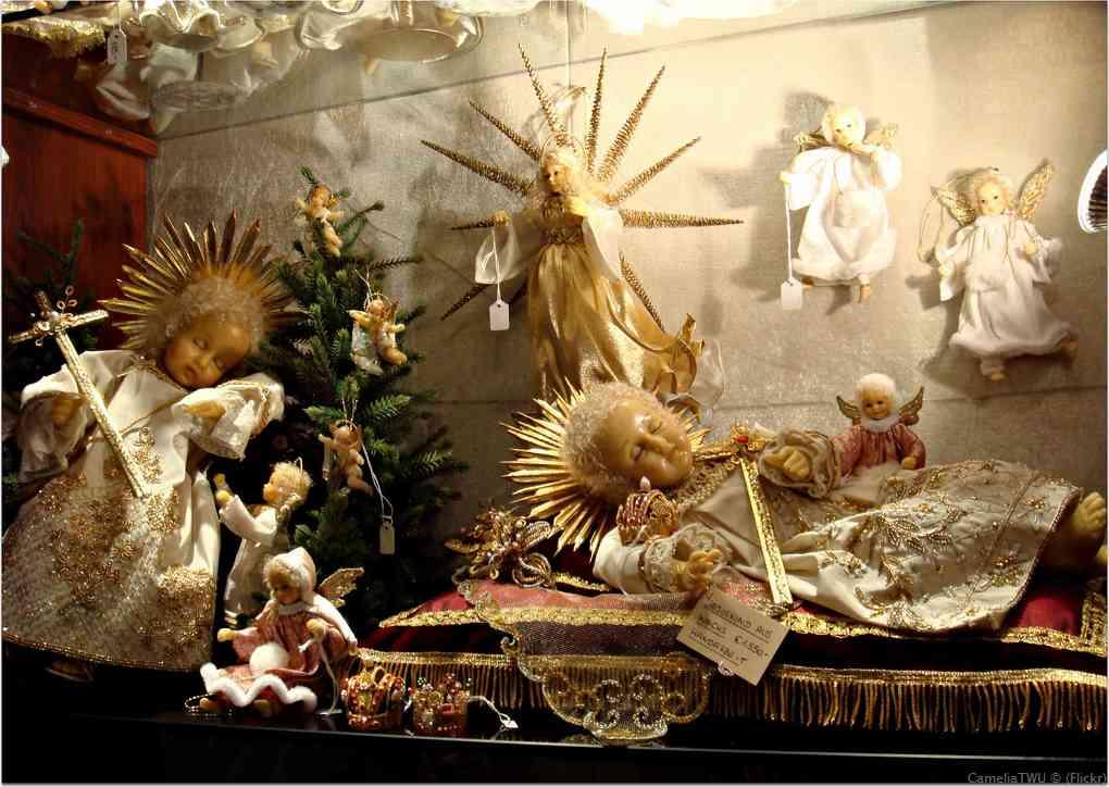 pièces et figurines de la Nativité à Salzbourg