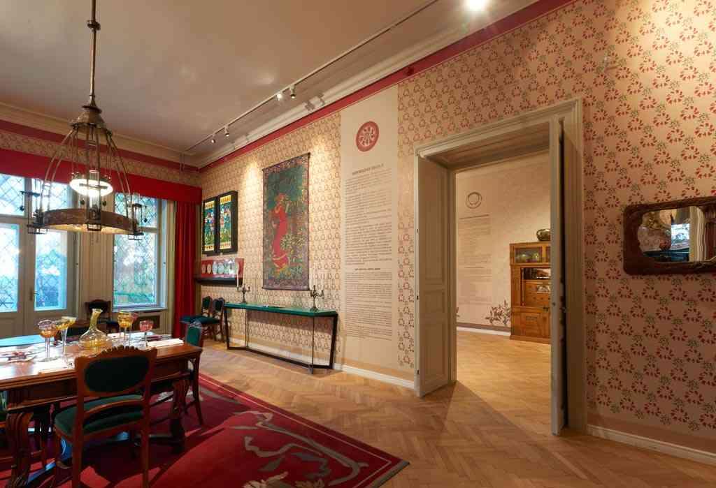 salle à manger art nouveau 2 dans la villa György Ráth