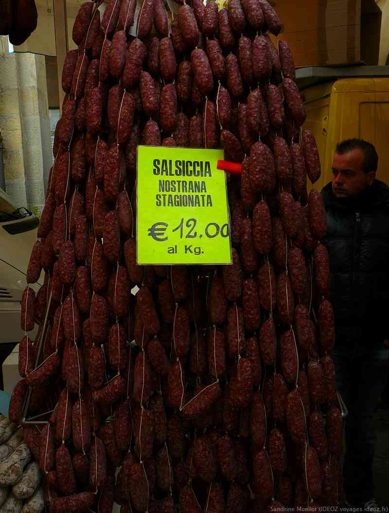 salsiccia nostrana stagionata saucisse sèche de Toscane