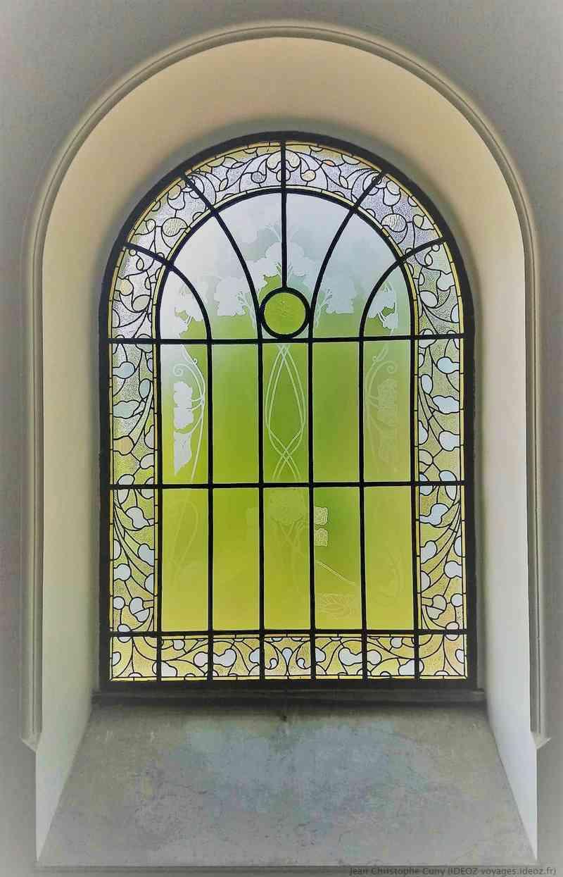 vitrail Art Nouveau villa de György Ráth