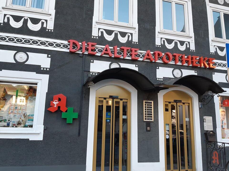 Alte Apotheke Garmisch Partenkirchen