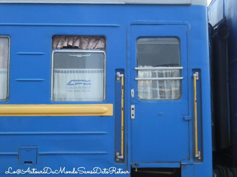 Entrée d'un train roumain