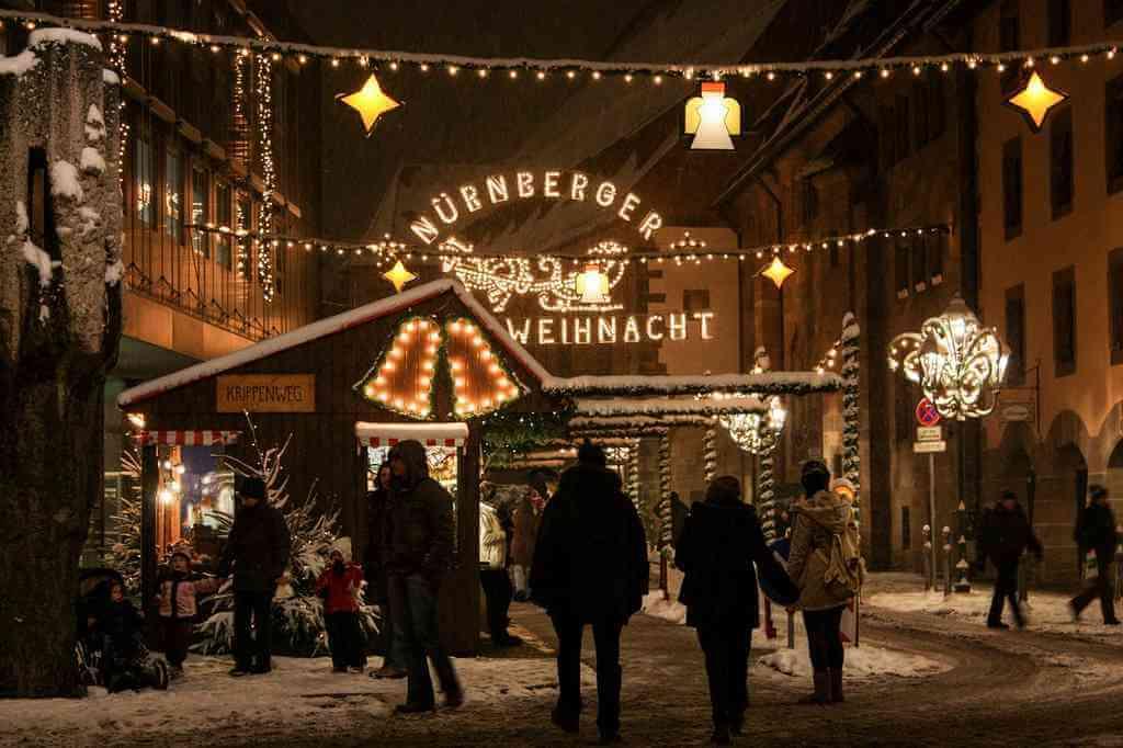 Marché de Noel de Nuremberg en Franconie