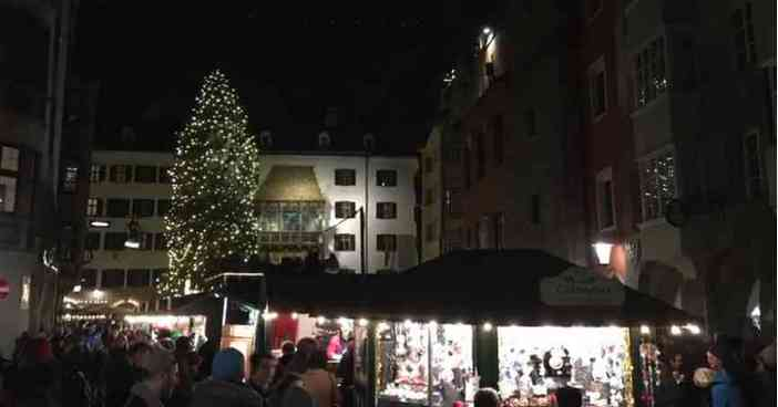 Marché de noel d'Altstadt Innsbruck
