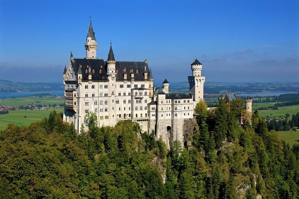 chateau de louis II Neuschwanstein