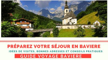 guide voyage en baviere