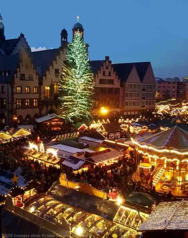 marché de Noël de Francfort-sur-le-Main