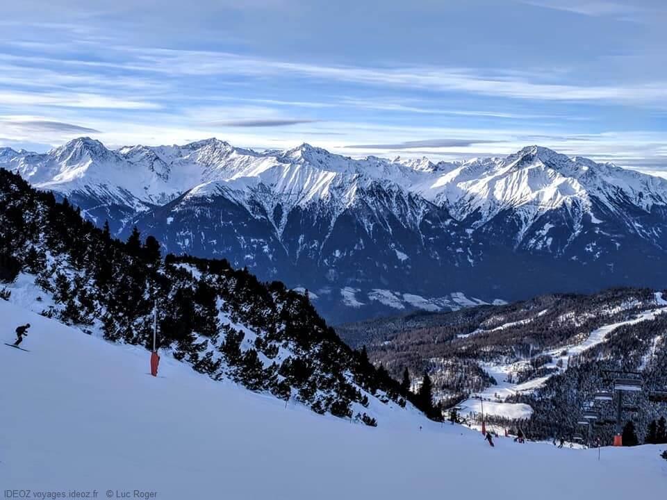 Alpes autrichiennes autour de Seefeld
