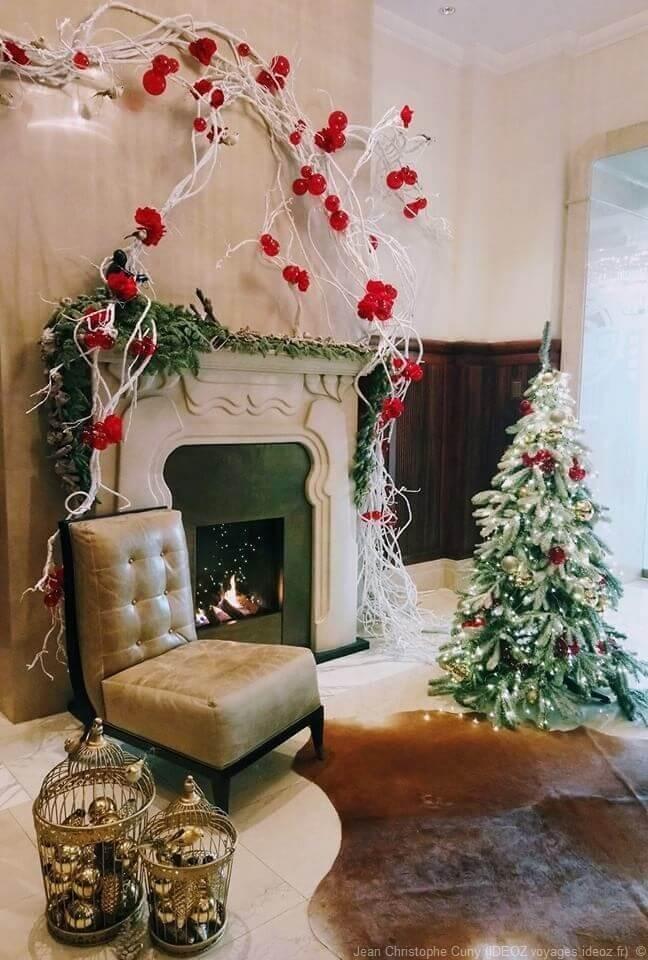 Décorations cosy pour Noël théatre Budapest