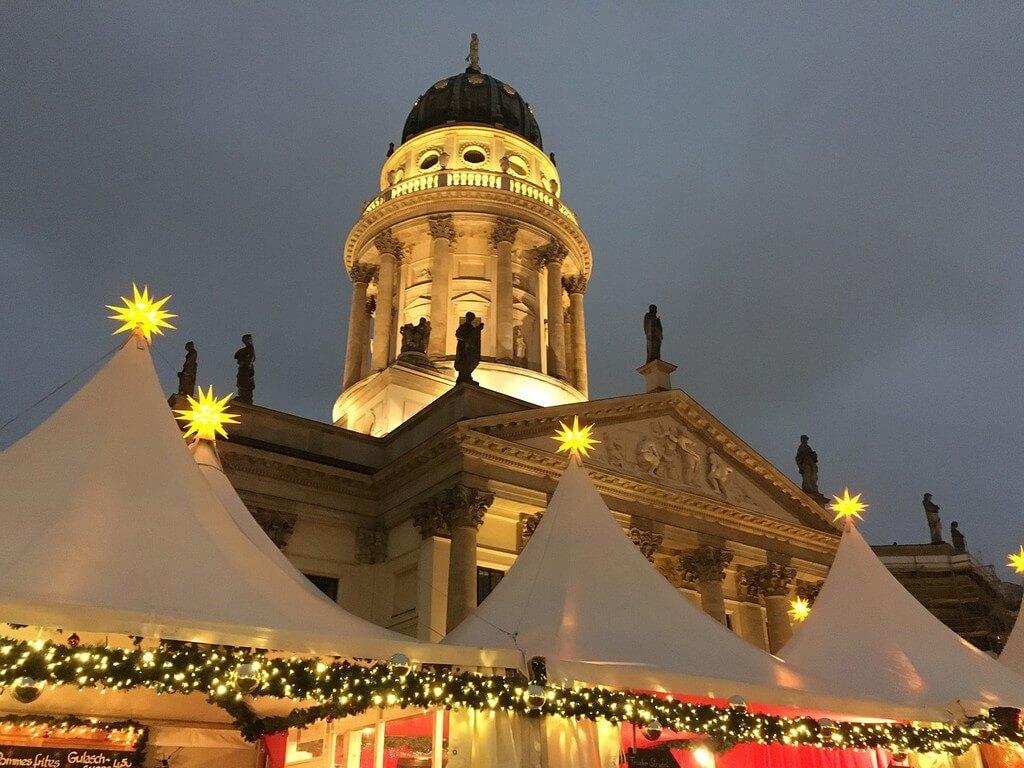 Gendarmenmarkt Marché De Noël à Berlin