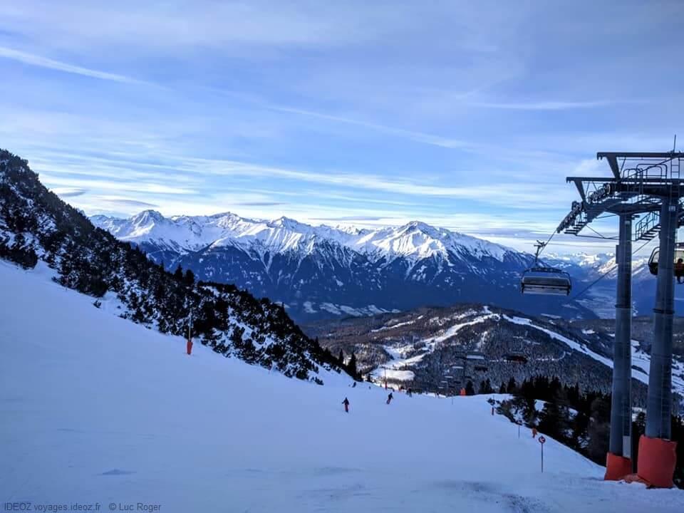 Seefeld remontée mécanique et piste de ski