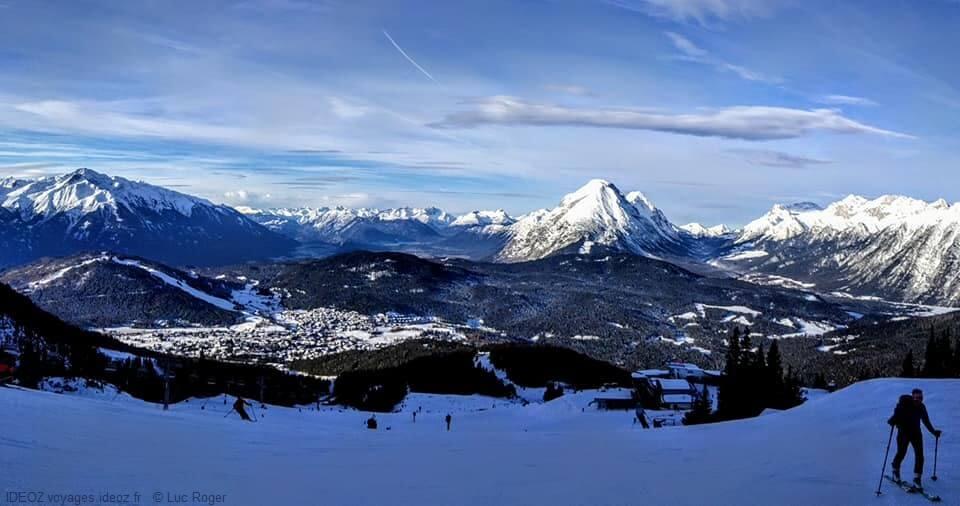Ski à Seefeld au Tirol