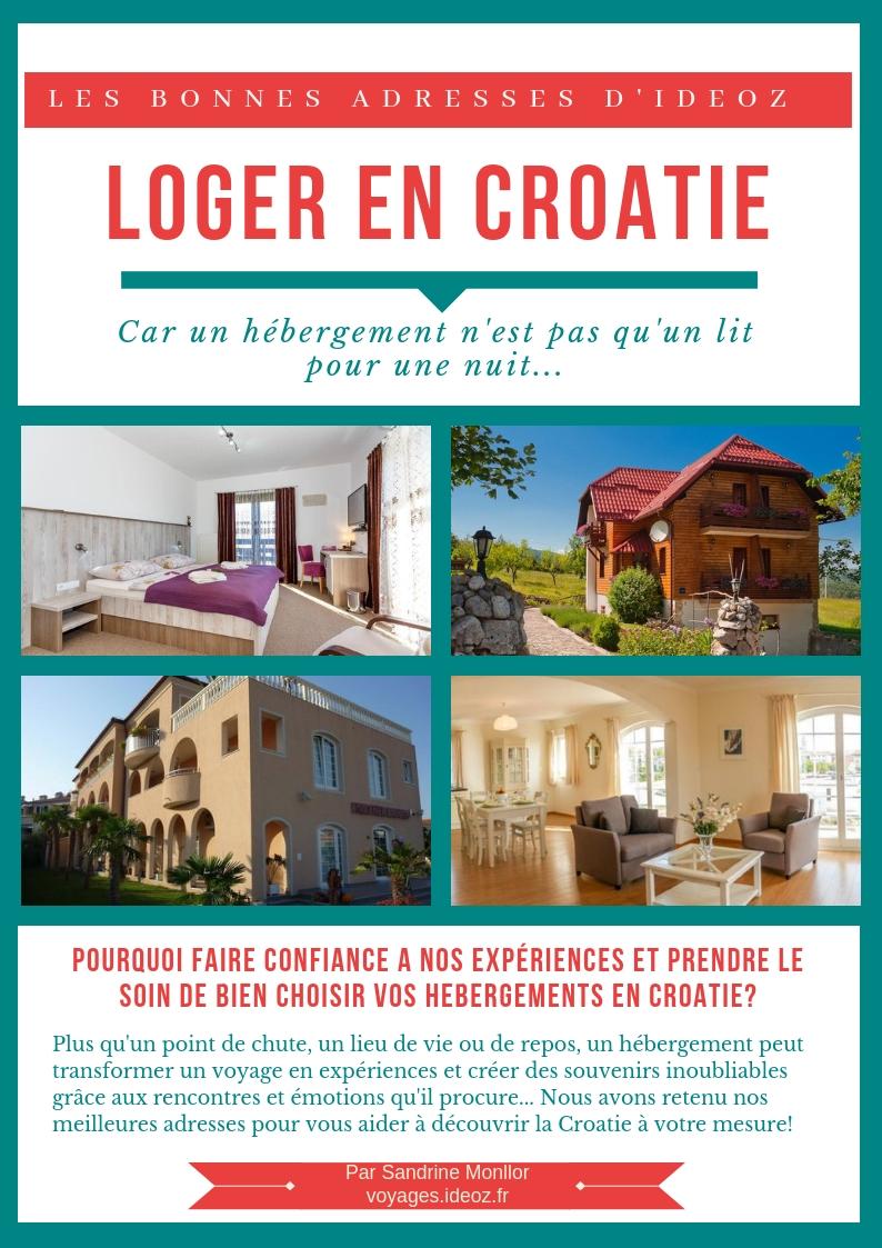 Téléchargez le guide pratique gratuit dédié à l'hébergement en Croatie 1