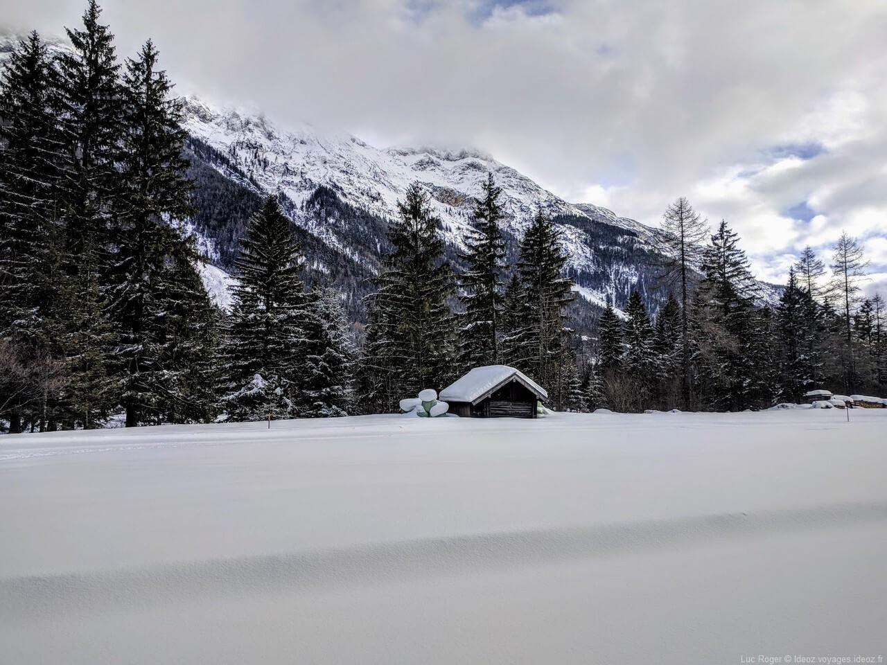 Chalet des hautes Alpes à Riedboden