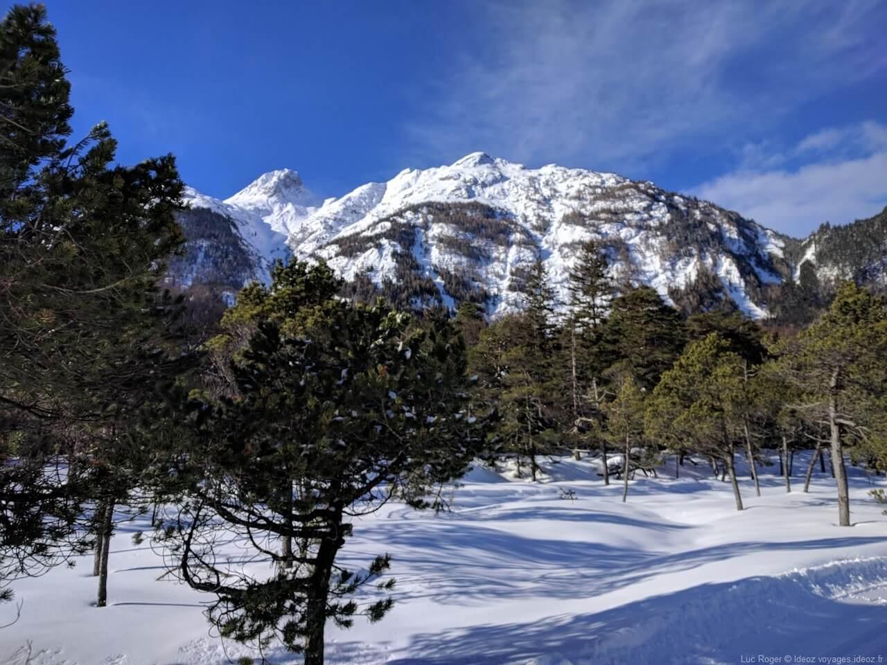 Paysages des alpes en Haute bavière à Riebdoben