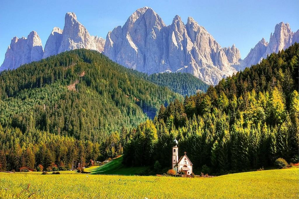 autriche paysage alpin