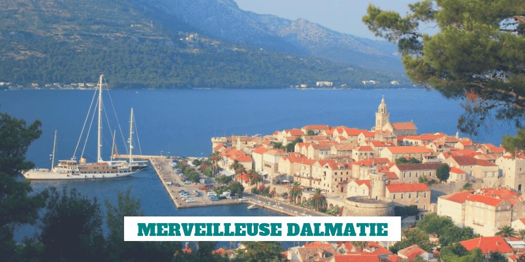 brochures officielles sur la dalmatie