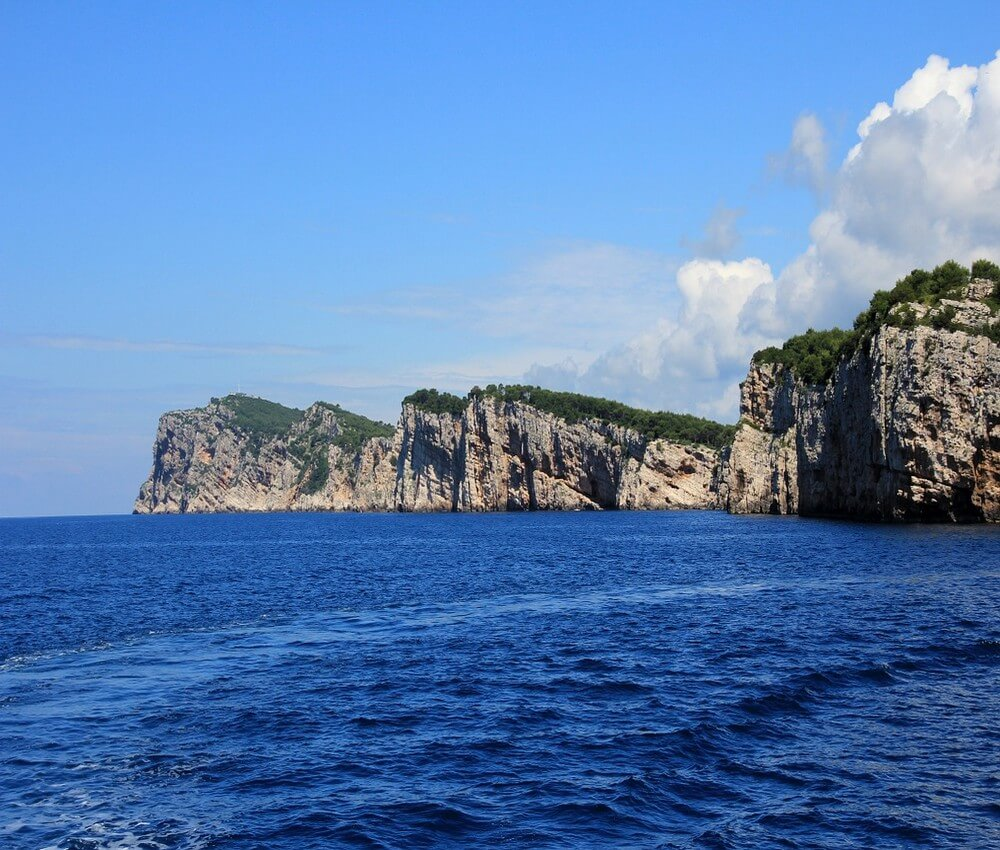 falaises de dugi otok