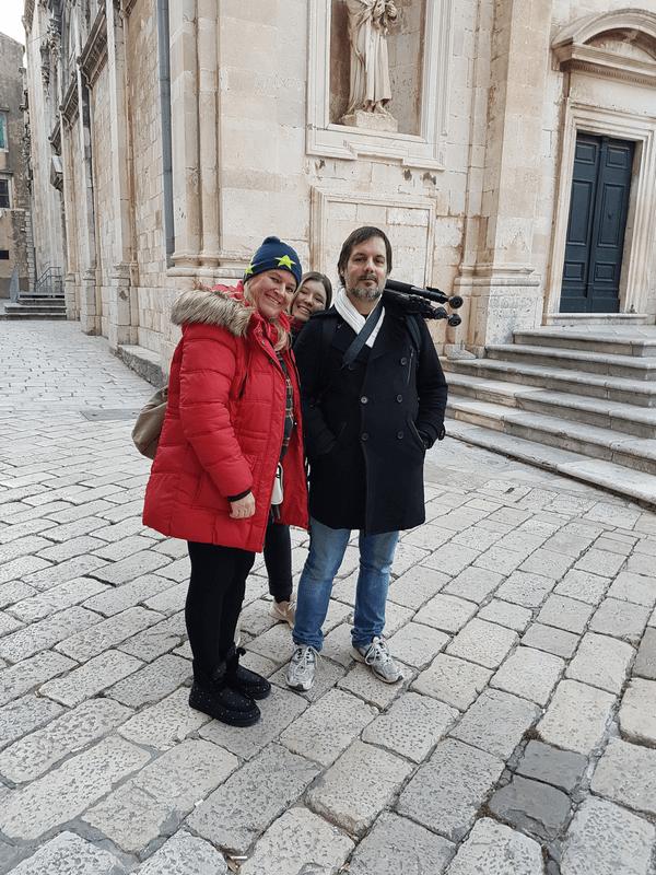 visite guidée à dubrovnik aux côtés d'anne femica guide francophone
