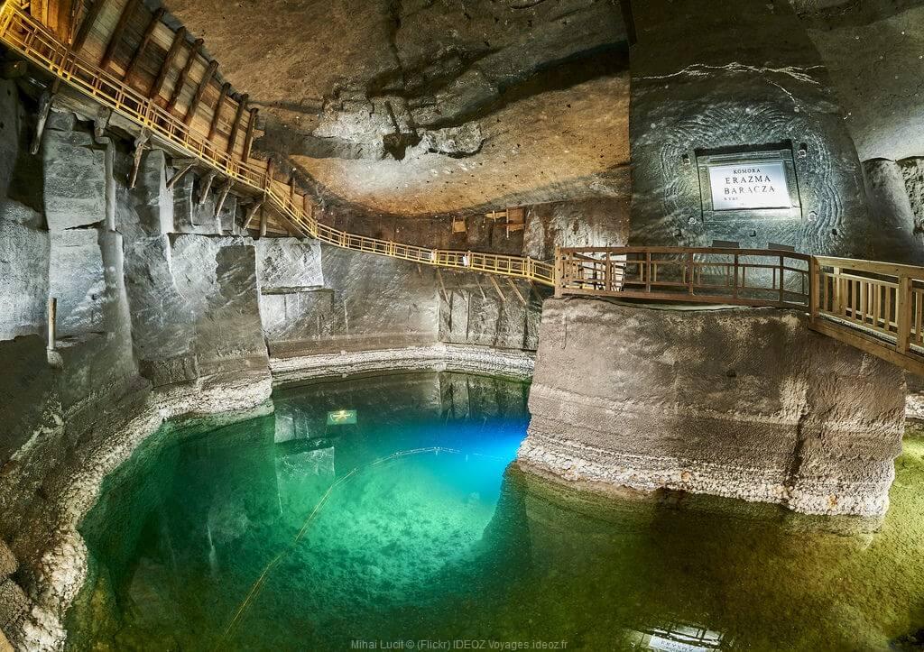 magique mine de sel de Wieliczka