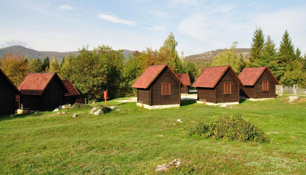 Bungalows au camping Korona