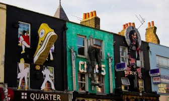 Camden Town quarter London