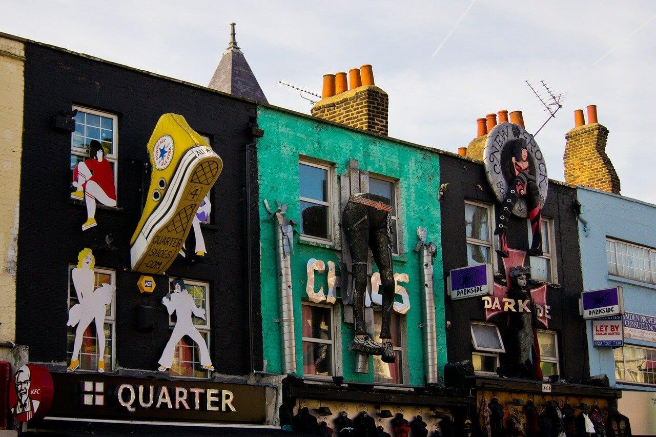 Camden Town quarter London