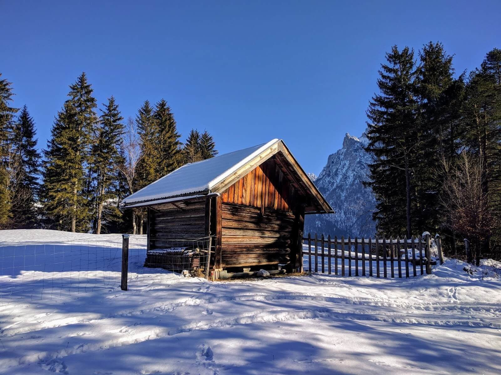 Chalet dans les montagnes près de Mittenwald