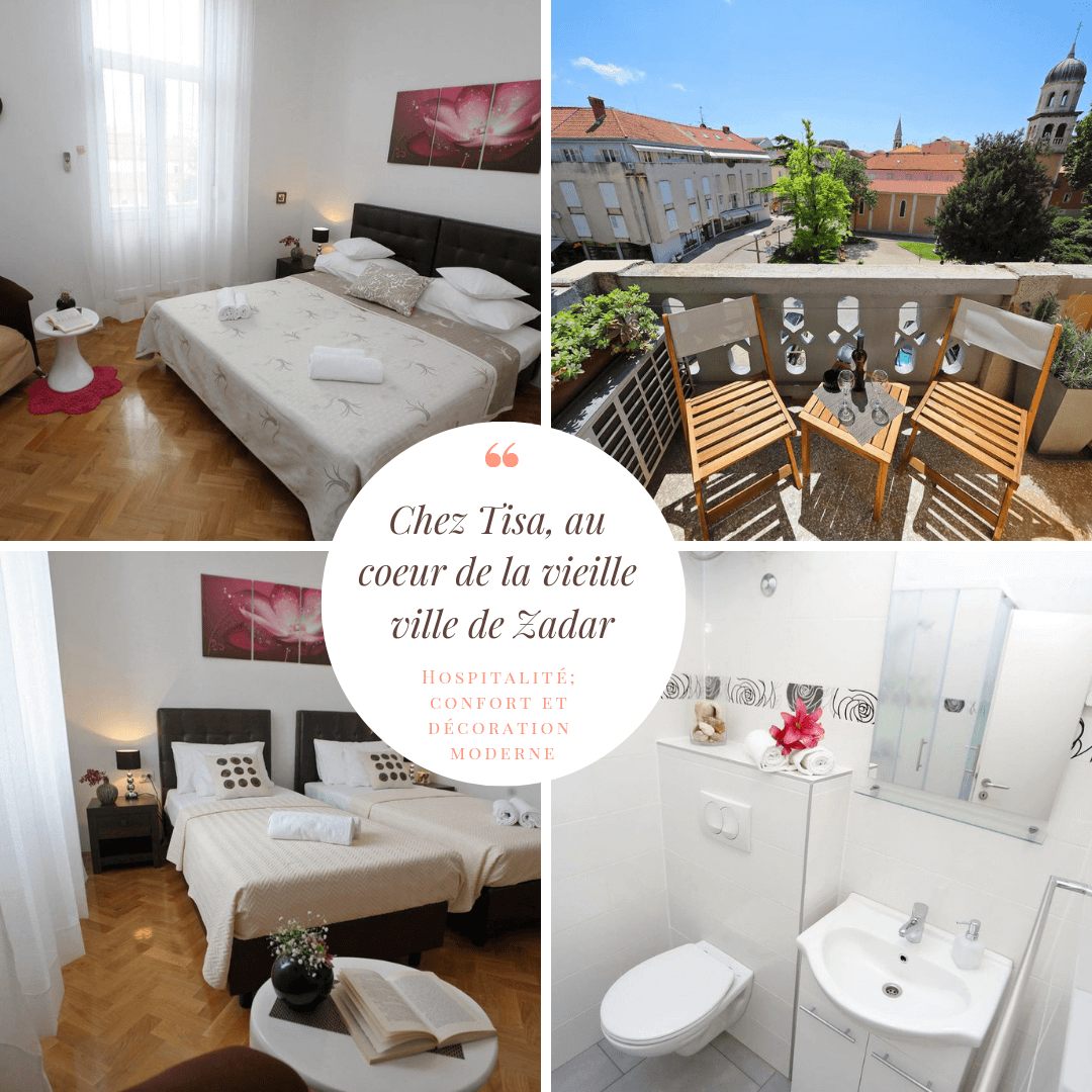 Chez Tisa à Zadar dans la vieille ville