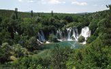 Chutes du parc naturel de Kravice en Bosnie Herzégovine