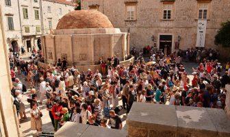 Dubrovnik fontaine Zidovska