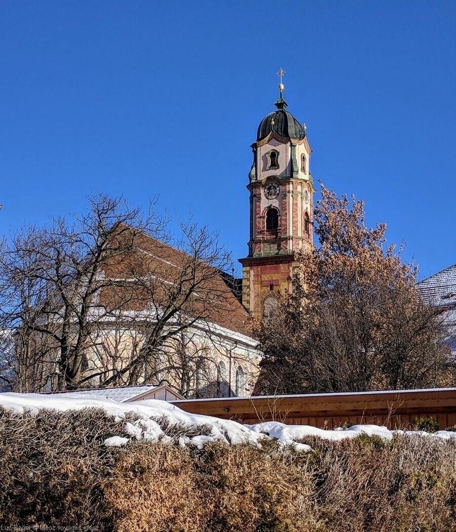 Eglise à Mittenwald