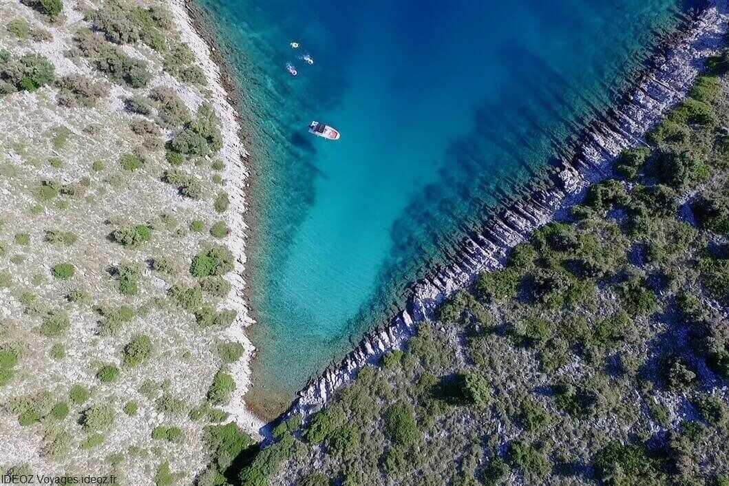archipel des kornati en visite privee avec topic zadarboatadventures