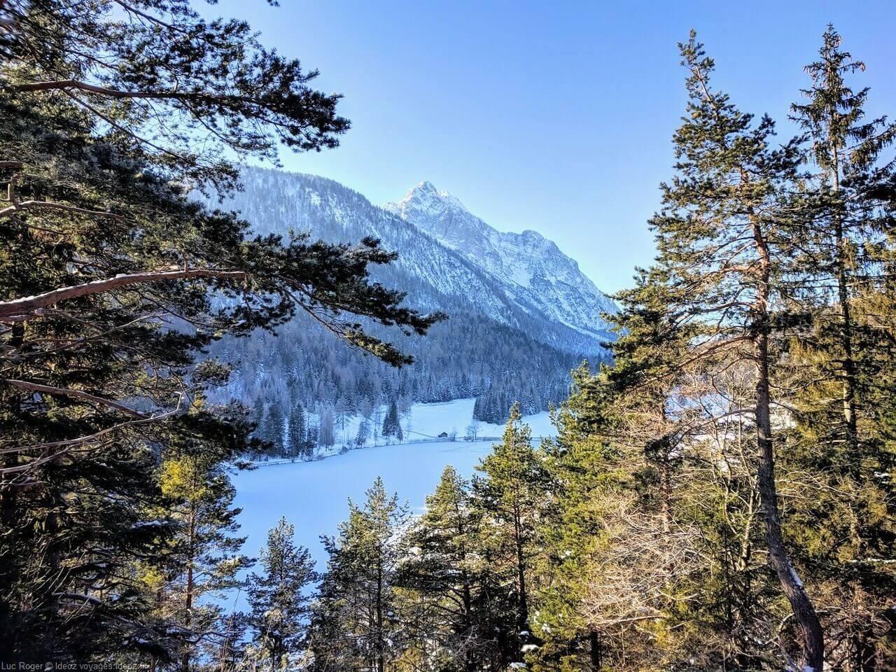 environs de mittenwald sous la neige (1)