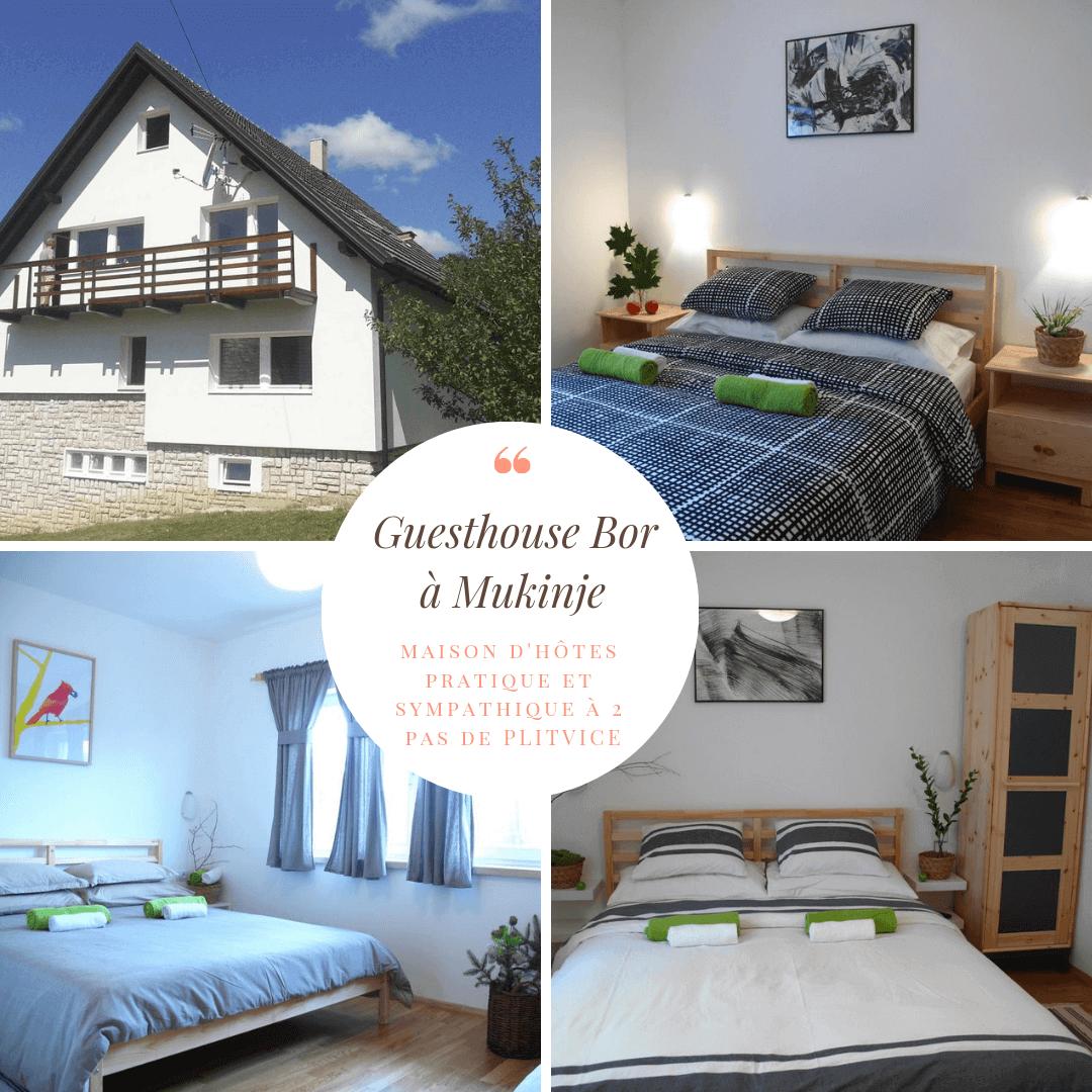 guesthouse Bor Mukinje Plitvice