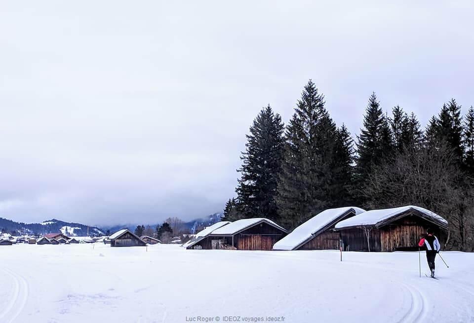 ski de fond à Riedboden