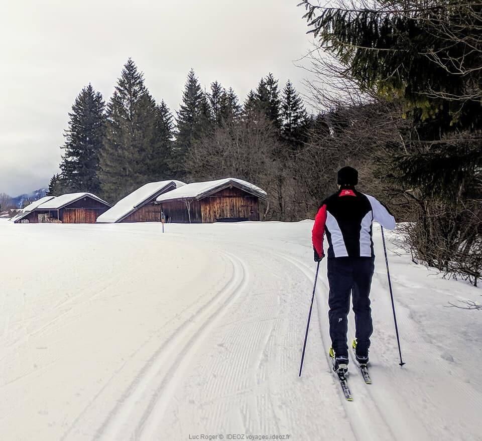 ski de fond dans le karwendel