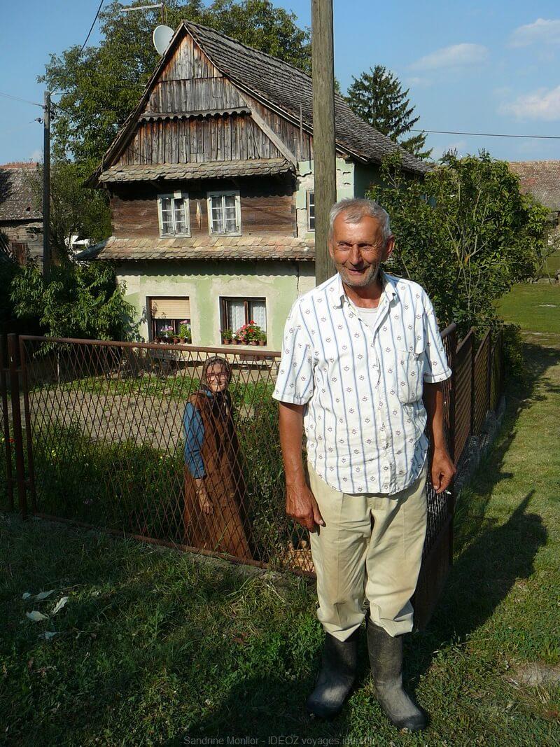 Habitants de Lonjsko polje en Croatie centrale