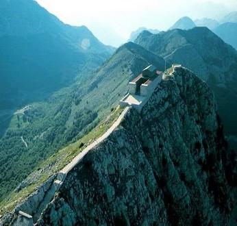 Mausolée du mont Lovcen Montenegro