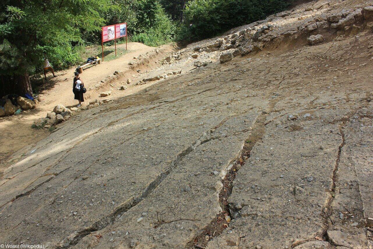 Visoko géologie et topologie des pyramides de Bosnie