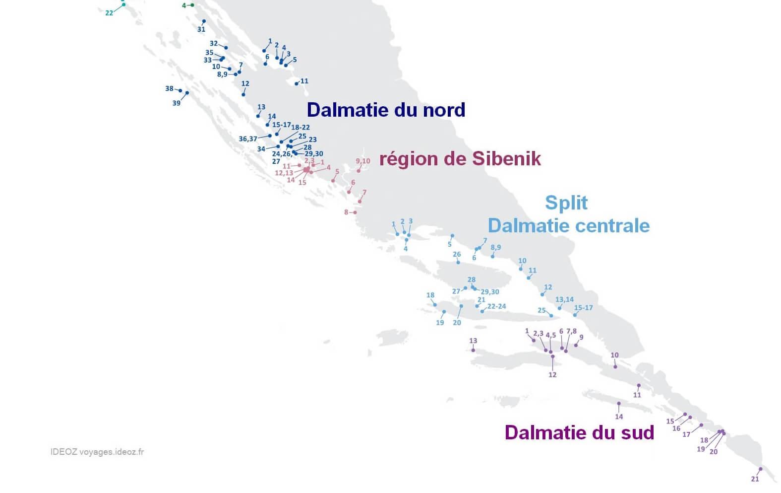 campings en dalmatie croatie